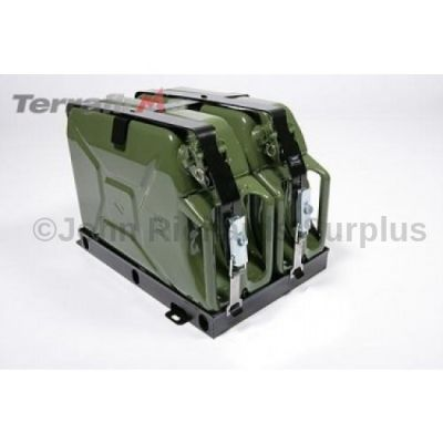 Terrafirma Roof Rack Double Jerry Can Holder P.O.A FRUN2009