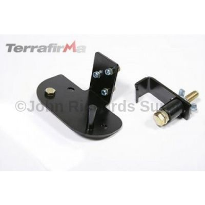 Terrafirma Roof Rack Hi Lift Jack Mounting Kit P.O.A FRUNWC05