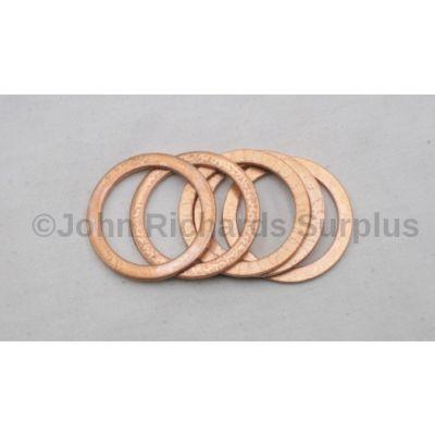 Drain Plug Copper Washer x 5 FTC4112