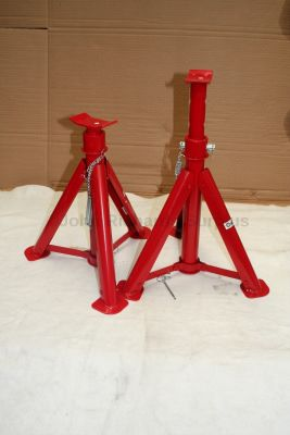 6 Ton Axle Stand fold up Pair 6 Ton Max Height 567mm