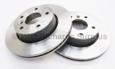 Brake Disc Pair Vented Front NTC8780