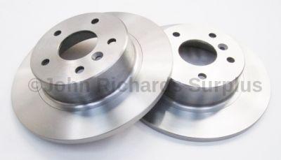 Brake Disc Rear Pair Solid SDB000470