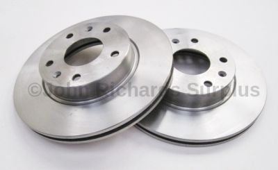 Brake Disc Front Pair Vented SDB101070