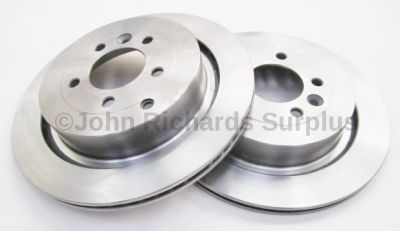 Brake Disc Pair Vented Rear SDB000646