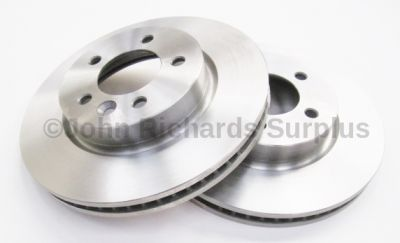 Brake Disc Pair Vented Front SDB000604