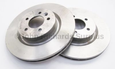 Brake Disc Pair Vented Front SDB000622