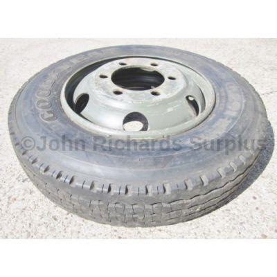 Goodyear Unisteel G291 8R 17.5 Tyre On Rim