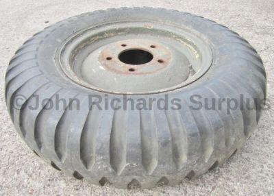 Goodyear Bar Tread 7.50 x 16C Tyre On Rim