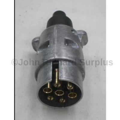 Trailer 7 pin Plug Aluminium housing 6003