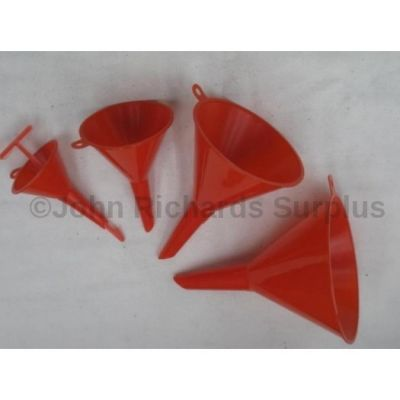 Small Plastic Funnel set 40-110mm 4 piece