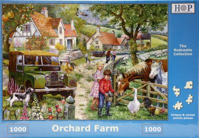 Orchard Farm 1000 Piece Jigsaw Puzzle Land Rover Series 1