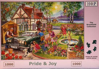 Pride & Joy 1000 Piece Jigsaw Rolls Royce
