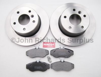 Brake Disc & Pad Set Front JRS021