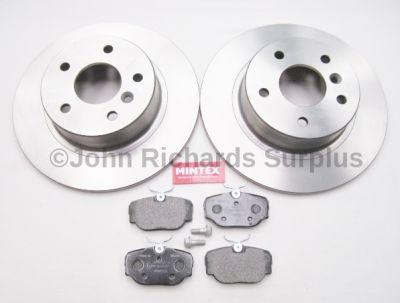 Brake Disc & Pad Set Rear JRS022