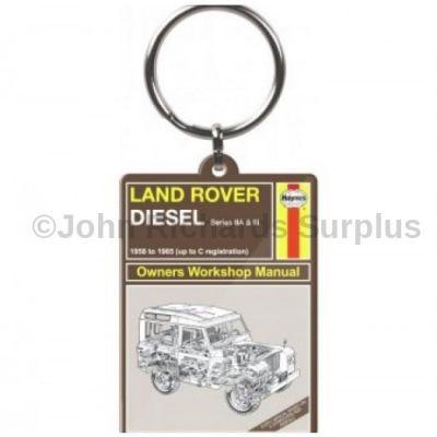Haynes Land Rover Keyring