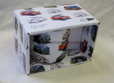 Land Rover fine china mug by Oscar & Bromley R35015LR