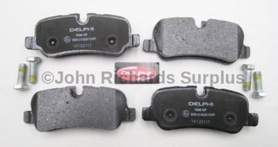 Brake Pad Set Rear LR021316