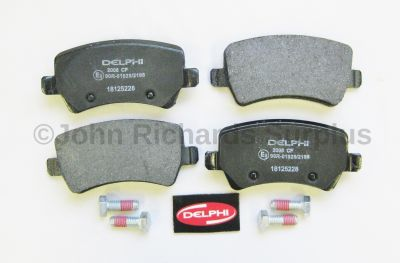 Brake Pad Set Rear LR043285