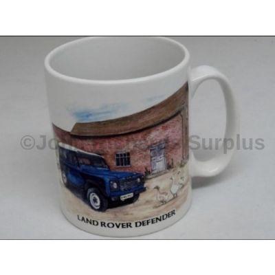 Classic china Durham mug Land Rover Defender