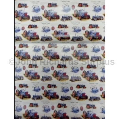 Gift wrapping paper Fordson Dexta 5 sheets per pack