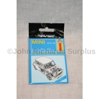 Haynes Mini Fridge Magnet