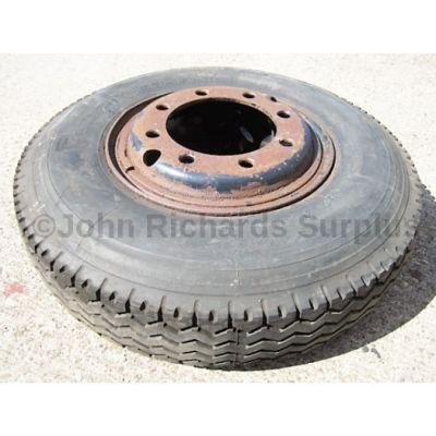 Michelin X 8.25 15 Tyre On Rim