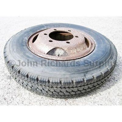Michelin XC 6.50 x 16 Tyre On Rim