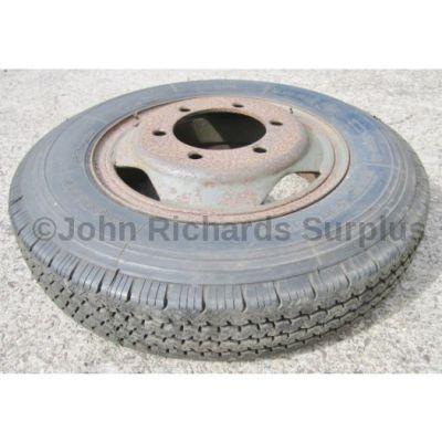 Michelin XCA 6.00 x R16 Tyre On Rim