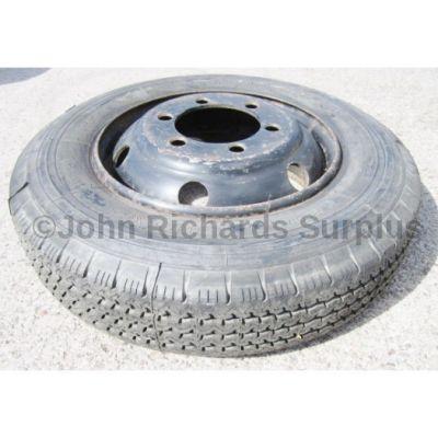 Michelin X XCA 8R 17.5 Tyre On Rim