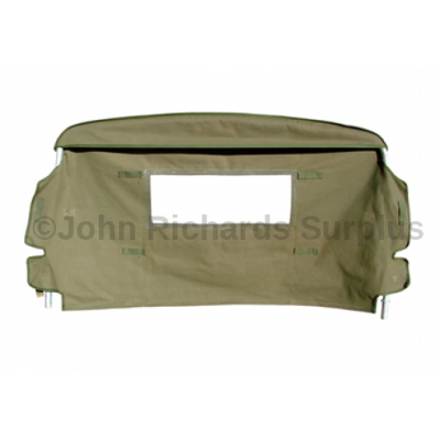 Defender and Series Hood Fume Curtain P.O.A MRC3519