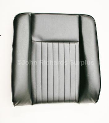 Seat Back Deluxe Black Vinyl MRC6982