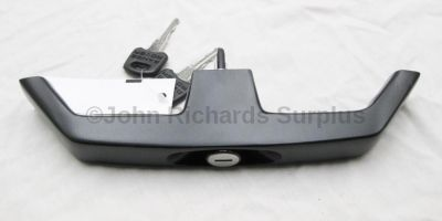 Upper Tailgate Handle and Lock Assy MWC8656