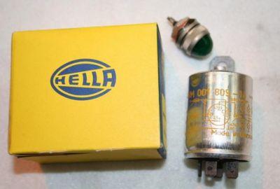 Hella 24volt indicator relay & warning lamp 4NM 001 809-4