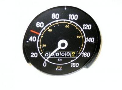 Ford Escort MK1 speedometer head KM/Hour
