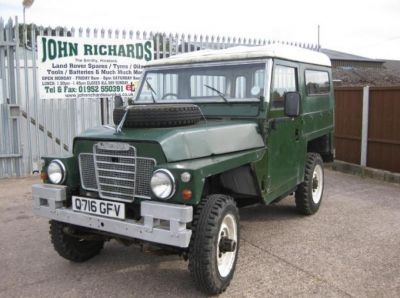 Land Rover Lightweight with Fitted Hardtop