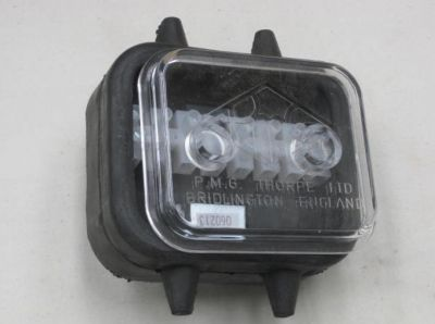 Trailer junction box with clear lens cover