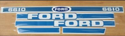 Ford Tractor 6610 decal set