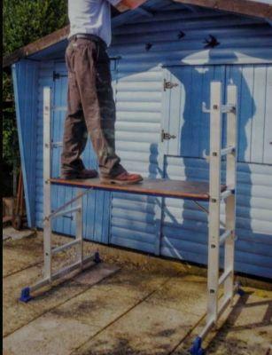 Westpower Multi-use convertible platform ladder