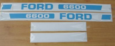 Ford 6600 Tractor decal set