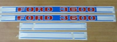 Ford 3600 Tractor Decal Set