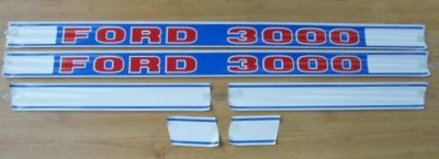 Ford 3000 Tractor Decal Set 5365