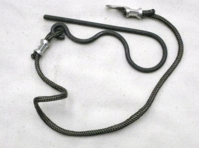 Military trailer hitch & leg safety pin 3.5 inch 5315998352760
