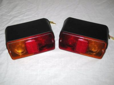 Ford tractor rear lamp pair