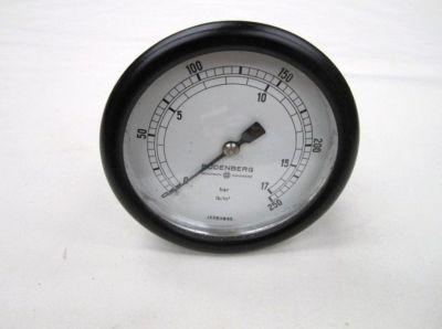 Budenberg pressure gauge