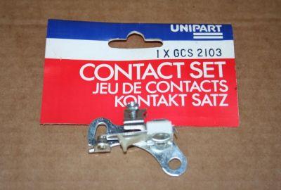Unipart Points set GCS2103