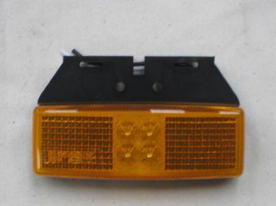 LED Amber marker lamp with bracket 12/24 volt