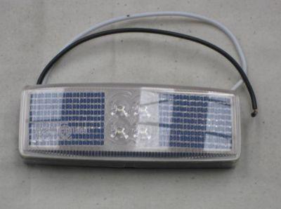 LED white marker lamp 12/24 volt