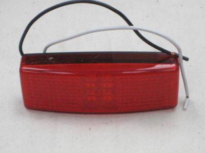 LED Red marker lamp 12/24 volt