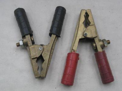 Heavy duty jump lead clamp pair 400 Amp 4317 4318