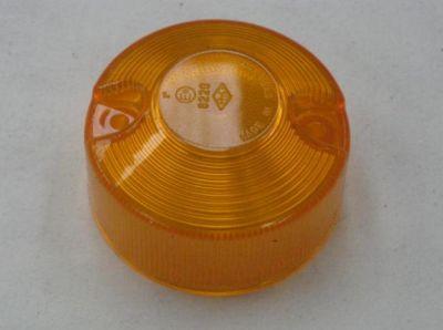 Britax round amber lamp lens 10100/6220